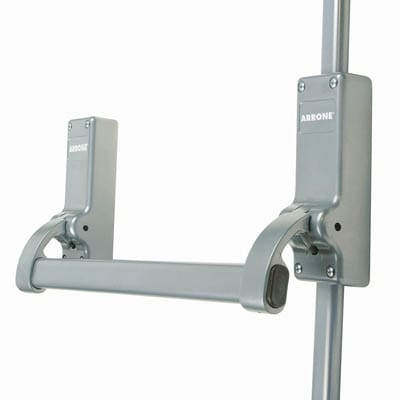Arrone® AR880 Single Door Panic Bolt - Silver