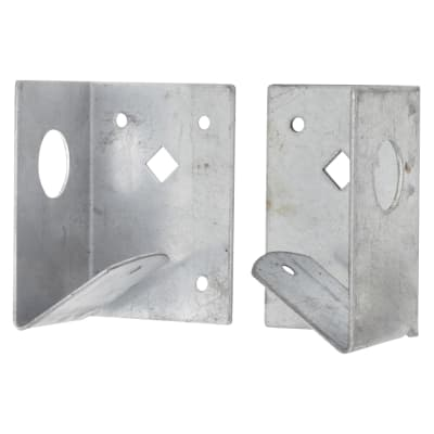 Taurus Fence Panel Arris Rail Support Bracket - Galvanised