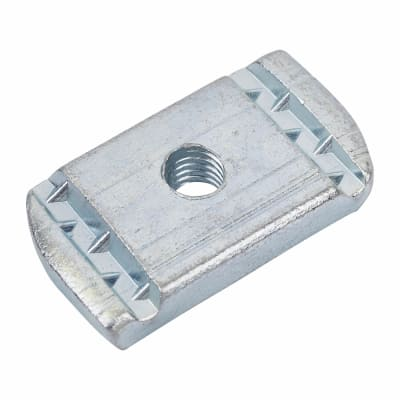 Slotted Channel Nut - No Spring - M6