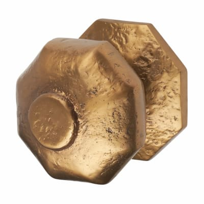 Olde Forge Centre Door Knob - 64mm - Antique Bronze