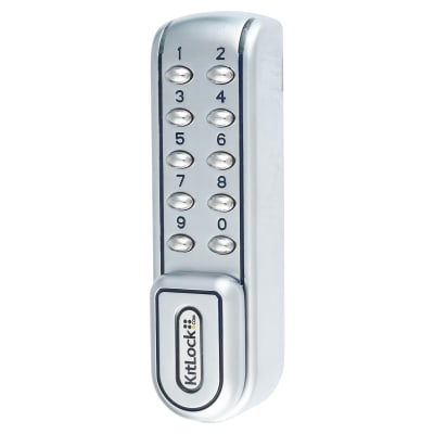 Codelocks KL1200 Electronic Lock - Stainless Steel