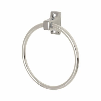 Croydex Sutton Towel Ring - 170mm - Polished Chrome