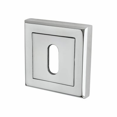 Morello Escutcheon - Keyhole - Polished Chrome