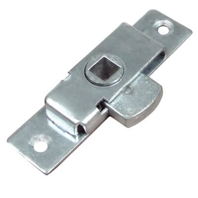 Budget Reversible Cabinet Rim Lock - 79 x 22mm - Zinc Plated