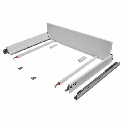Blum TANDEMBOX ANTARO Pan Drawer - BLUMOTION Soft Close - (H) 203mm x (D) 550mm x (W) 1200mm - Whit