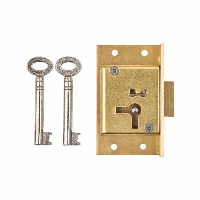 Cut Cupboard Lock - 63 x 38mm - Right Hand