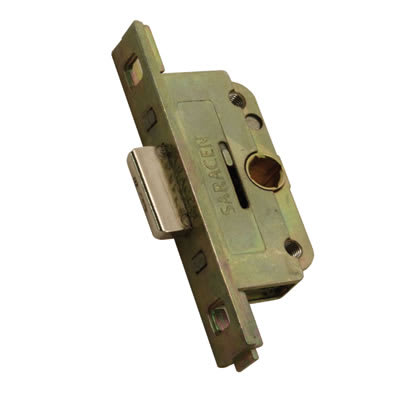 Saracen Shootbolt Locking Drive Gearbox - 22mm Backset - 9.5mm Deadbolt Height