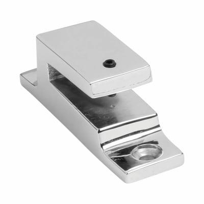 Hampstead Long Locking Keep - Polished Chrome
