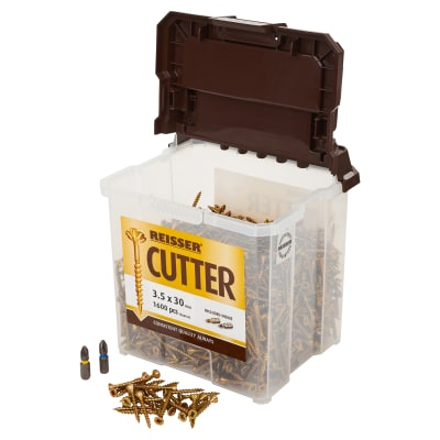 Reisser Cutter Tub - 3.5 x 30mm - Pack 1600