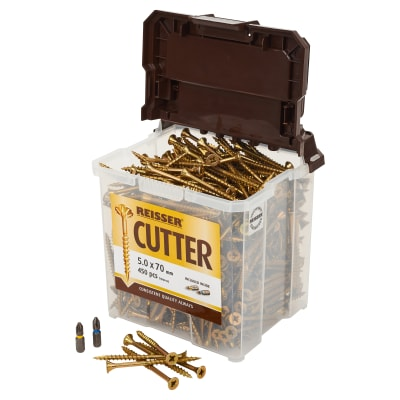 Reisser Cutter Tub - 5 x 70mm - Pack 450