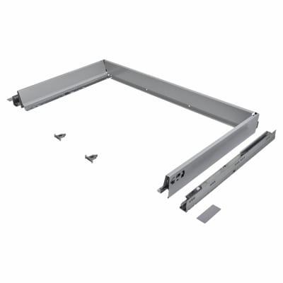 Blum TANDEMBOX ANTARO Drawer Pack - BLUMOTION Soft Close - (H) 84mm x (D) 500mm x (W) 1000mm - Grey