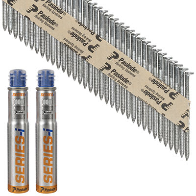 Paslode IM90I Nail - First Fix - 63 x 3.1mm - HDGV - Pack 2200