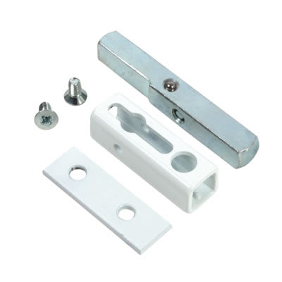 Rola Metal Casement Window Lock - White