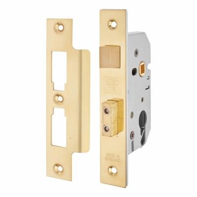 UNION® 2249 Euro Profile Sashlock - 77.5mm Case - 57mm Backset - Brass