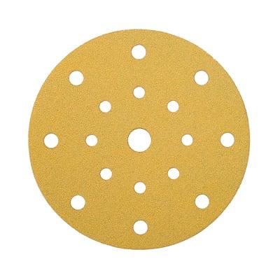 Mirka Gold Discs 17 Hole Multi Format - 125mm - Grit 180 - Pack 100
