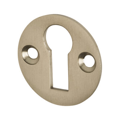 Jedo Escutcheon - Keyhole - Satin Nickel