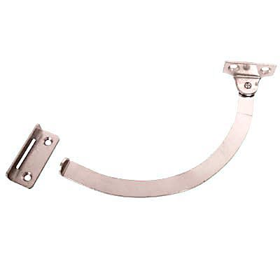 Quadrant Stay - Left Hand - 150mm - Nickel Plated