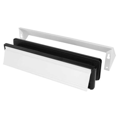 Yale® Security letterplate 340 x 70mm - White