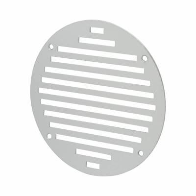 Circular Slotted Vent - 152mm - 6212mm2 Free Air Flow - Satin Aluminium