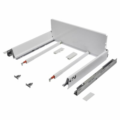 Blum TANDEMBOX ANTARO Pan Drawer - BLUMOTION Soft Close - (H) 203mm x (D) 450mm x (W) 600mm - White