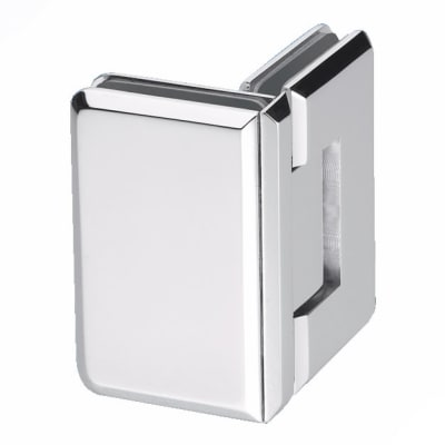 Glass to Glass Shower Hinge - 90° - 6-8mm Glass