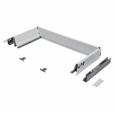 Blum TANDEMBOX ANTARO Drawer Pack - BLUMOTION Soft Close - (H) 84mm x (D) 270mm x (W) 800mm - White