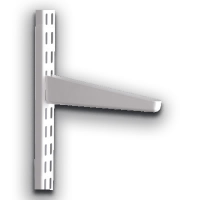 elfa® Bracket for Solid Shelving - 120mm - White