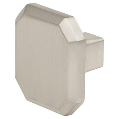 Crofts & Assinder Corbusier Mazak Cabinet Knob - 34mm - Brushed Nickel