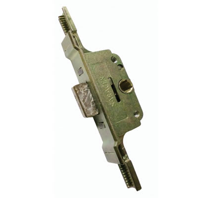 Aubi/Saracen uPVC Cranked Window Lock Gearbox - 22mm Backset - 9.5mm Deadbolt