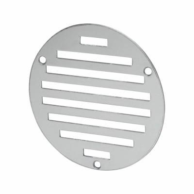 Circular Slotted Vent - 102mm - 1125mm2 Free Air Flow - Satin Aluminium