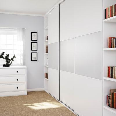 KLÜG Straight Sliding Cabinet Fittings Pack for 1 x 50kg Door