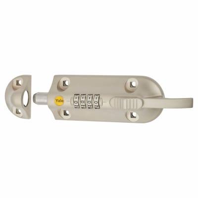 Yale® 600 Combination Door Bolt - 150mm - Satin Nickel