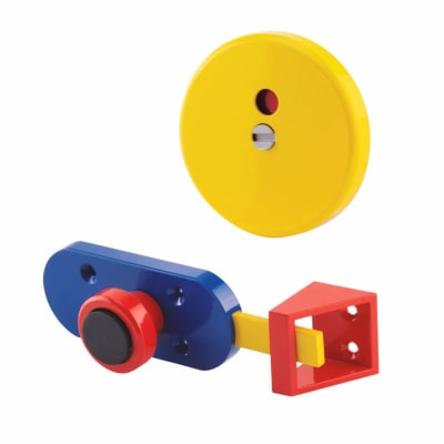 Indicator Bolt - Childsplay (Coloured) - 17-21mm Panels - Red/Yellow/Blue