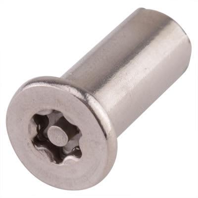 Hafren 6-Lobe Barrel Nuts - M8 x 20mm - CSK Head - Pack 50