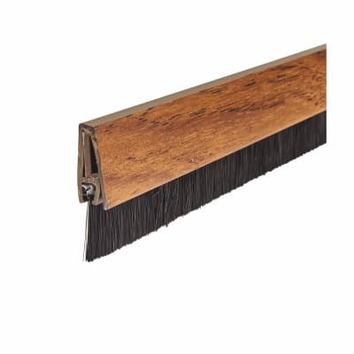 Brush Seal Strip - 914mm - Pecan Effect