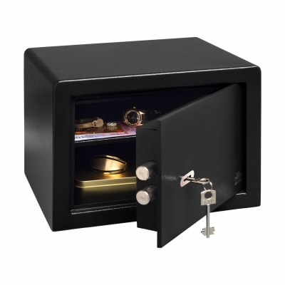 Burg Wächter P 2 S PointSafe Key Operated Safe - 255 x 350 x 300mm - Black