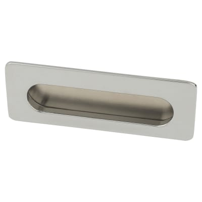 Touchpoint Flush Cabinet Pull - 39 x 106mm - Polished Chrome