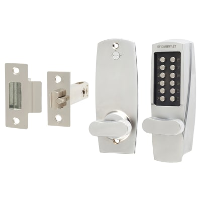Securefast SBL700.S Mechanical Code Lock - Satin Chrome
