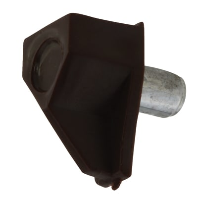 ION Shelf Support - 5mm Pin - Brown - Pack 50