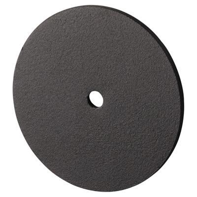Designer End Cap for Headrail - Black Textured - 17-19mm Panels