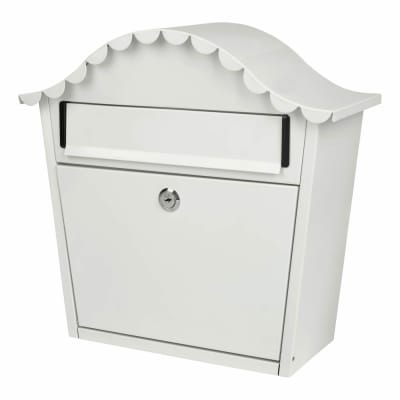 London Letter Box - 330 x 340 x 130mm - White