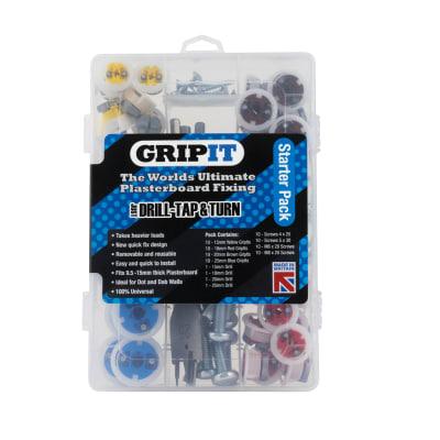 Grip It® Plasterboard Fixings - Starter Pack