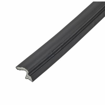 Schlegel Q-Lon 9257 Universal uPVC Door Replacement Seal - 25m - Black