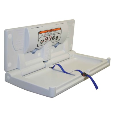 Horizontal Baby Changing Station - 406 x 870mm