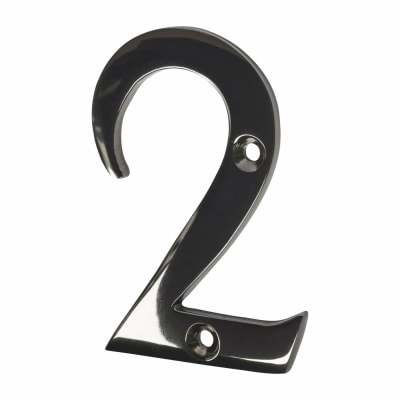 Screw Fixed Number - 2 - Black Nickel