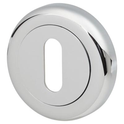 Morello Keyhole Escutcheon - Polished Chrome
