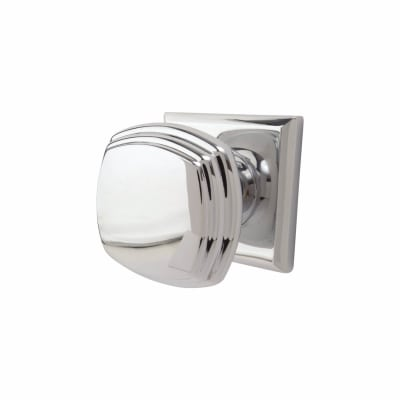 Jedo Square Deco Mortice Door Knob - Polished Chrome