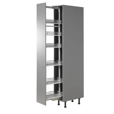 Full Height Soft Close Pull Out Larder Plus - Full Extension - Fits to Cabinet Width 300mm