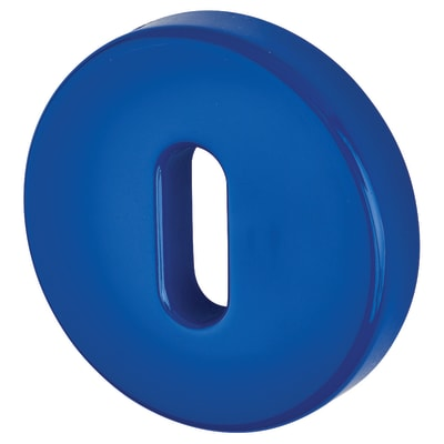 Hoppe Paris Coloured Nylon Keyhole Escutcheon 52 x 9mm - Cobalt Blue