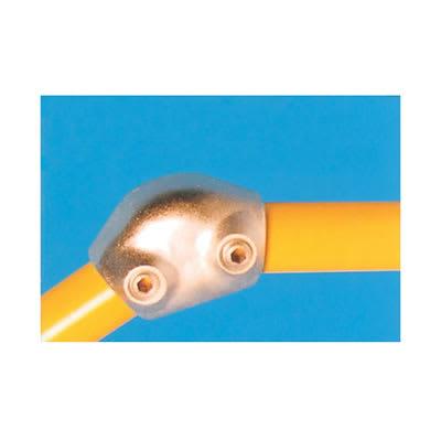 Elbow Connector - Adjustable (15-60 degree) - Galvanised